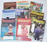 Vintage 1985 Workbasket Magazine Lot