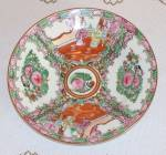 Macau Chinese Export Rose Medallion Bowl
