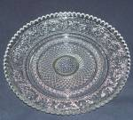 Elegant Pressed Glass Bread Plate