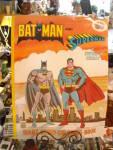 Coloring Book Bat Man And Superman