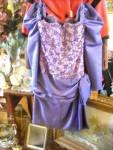 Victor Costa Purple Semi Formal Dress