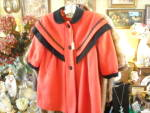 Vintage Rothchild Red Coat Size 4
