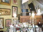 Mantel Victorian Luster Lamps