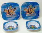 Disney Peter Pan & The Adventurers Cereal Bowls/plates