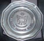 Wilton Pewter St. Francis De Sales Commemorative Plate