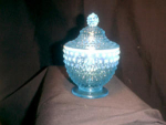 Fenton Glass, Blue Opalescent