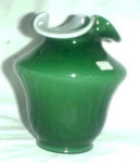 Fenton Glass, Green Overlay