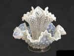 French Opalescent--hobnail