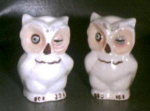 Shawnee,woodsy Owl,salt,pepper,shakers
