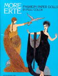 "1984 Tom Tierney ""more Erte"" Paper Dolls"