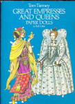 Tom Tierney Great Empress & Queens Paper Dolls