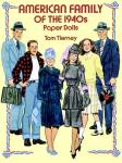 Tom Tierney American Family Of The 1940s Paper Dolls