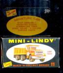 1968 Mini-lindy Lindberg Dump Truck Model Kit