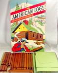 1950 Hal-sam Toy Company 'american Logs' Set