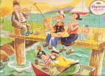 1966 Popeye Jaymar Tray Puzzle