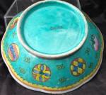 Chinese 19th Century Famille Verte Export Porcelain Bowl