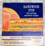 Sandwich Fun Good Housekeeping Recipe Booklet 1963