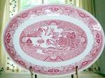 Pink Willow Platter Royal China