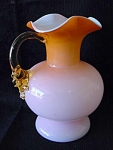 Pale Pink To Orange Pitcher