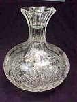 Cut Glass Carafe