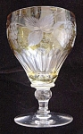 Cut Glass Champagn Goblet