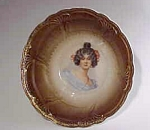 Beautiful R. S. Germany Portrait Bowl