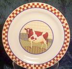 Alco Farm Animals Salad Plate