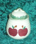 Alco Apple Garden Sugar Bowl With Lid