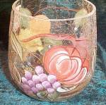 American Atelier Pompeii Fruit Old Fashioned Glass