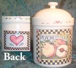 Certified International Harvest Fair Canister With Lid