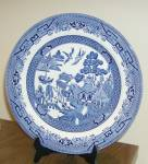 Churchill Blue Willow Dinner Plate