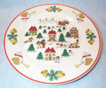 Classic Collectors Studio Joy Of Christmas Dinner Plate