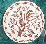 Homer Laughlin Chanticleer Bread & Butter Plate