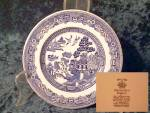 Johnson Brothers Willow (Blue) Bread & Butter Plate