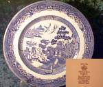 Johnson Brothers Willow (Blue) Dinner Plate