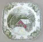 Johnson Brothers Friendly Village Salad Plate - Square