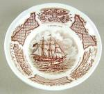 Alfred Meakin Fair Winds (Brown) Fruit Or Dessert Bowl