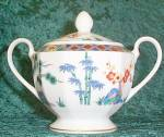 Mikasa Classic Imari L9902 Sugar Bowl With Lid