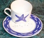 Muirfield Seashore Cup & Saucer - Flat