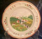 Newcor Country Village 627 Salad Plate