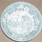 Royal Tudor Coaching Taverns (Teal) Cereal Bowl