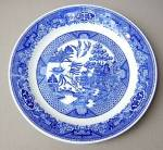 Royal Usa Blue Willow Salad Plate