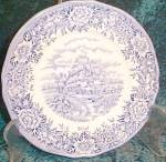 Salem English Village (England) Salad Plate