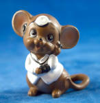 Doctor Mouse With White Coat