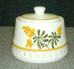 Stangl Golden Blossom 515 Sugar Bowl With Lid