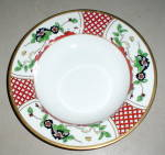Christian Dior Chinese Flowers Rimmed Soup Bowl