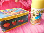 Lunchbox - Vintage Pac-man W/thermos