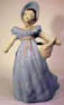 Kim Ward Lady With Basket