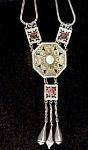 Vintage Moroccan Necklace W/cabochons