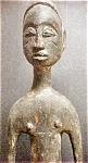 Wooden Djimini Male Figure - Ivory Coast